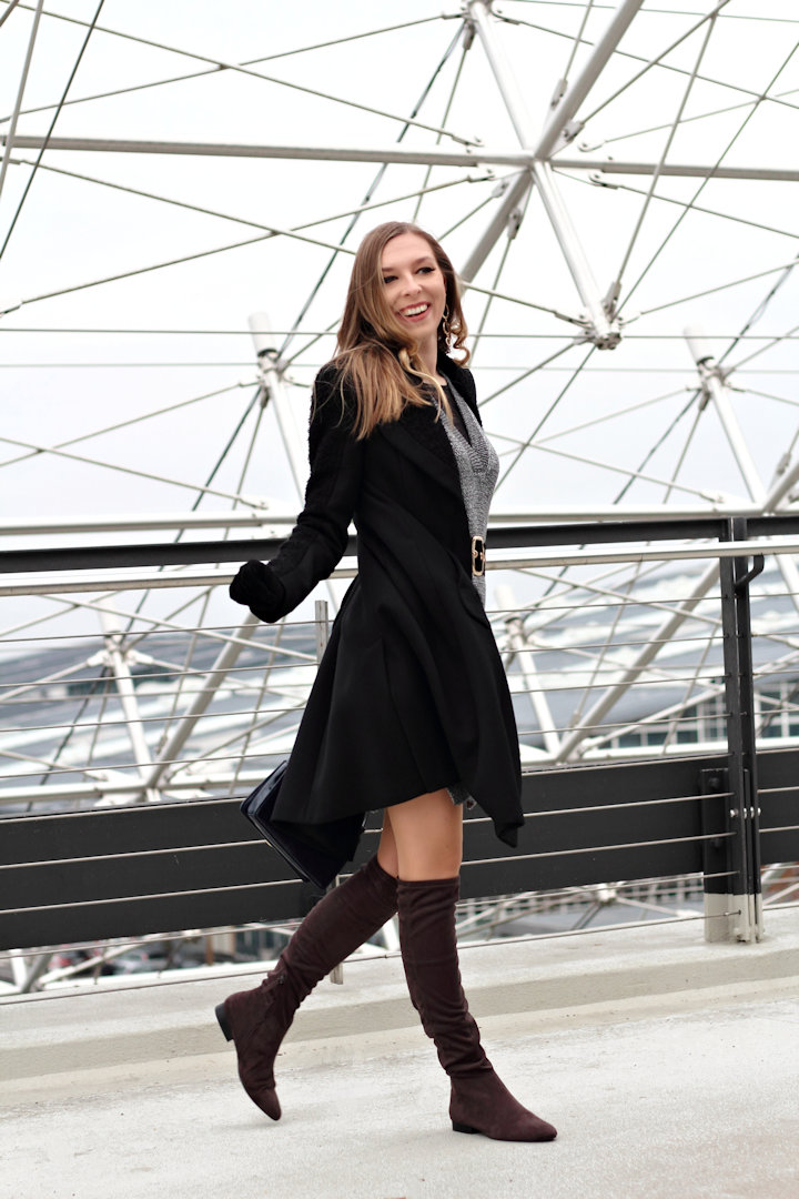 Winter Vibes With Over The Knee Boots